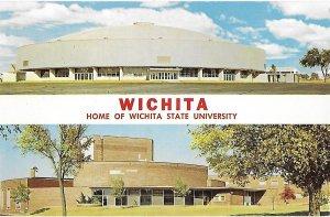 Split View Wichita State University Field House & Fine Arts Center Kansas