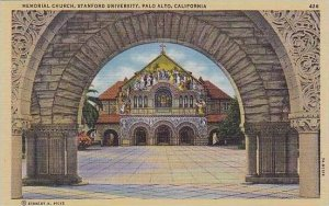 California Palo Alto Memorial Church At Stanford University