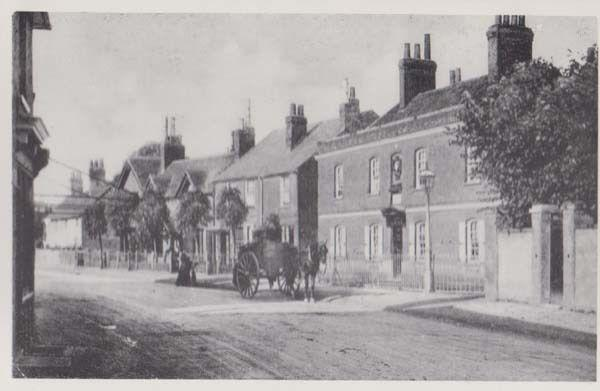 Broxbourne High Road Monson Almshouse Victorian View Hertfordshire Postcard