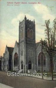 Calvary Baptist Church Lexington KY Unused