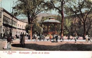 GUANAJUATO MEXICO JARDIN de la UNION~J K #138 PUBL POSTCARD 1900s
