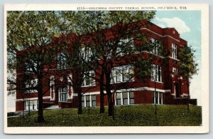 Columbus Wisconsin~Columbia County Normal School~Lots of Trees~1920s