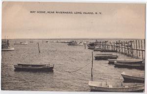 Bay, Riverhead LI