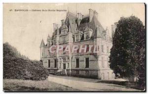 Postcard Old Cars Chateau de la Roche Cars