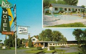 REPENTIGNY , Quebec, Canada, 1950-60s ; Au Doc Motel