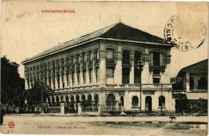 VIETNAM INDOCHINE - Saigon - L'Hotel des Douanes (190201)