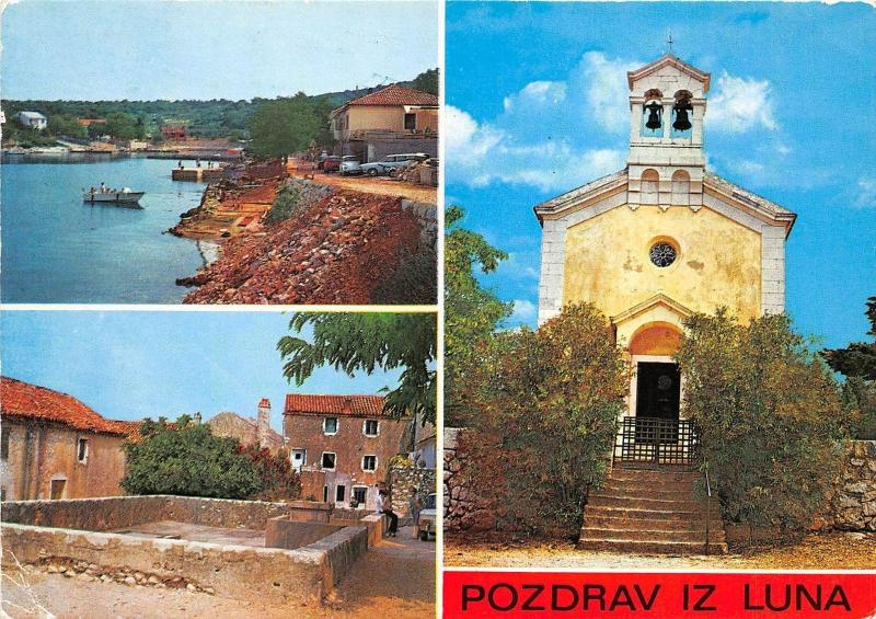 B67836 Croatia Lun boats bateaux multiviews