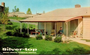 Advertising Silver-Top Aluminum Awnings Silver Top Manufacturing Company Whit...