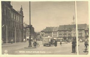 Czech Republic Brüx Adolf Hitler Platz 02.45