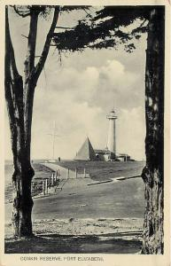 PORT ELIZABETH, South Africa   DONKIN RESERVE  Pyramid  Lighthouse   Postcard