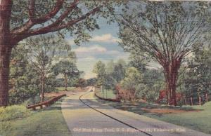 Old Man River Trail U S Highway Vicksburg Mississippi 1953