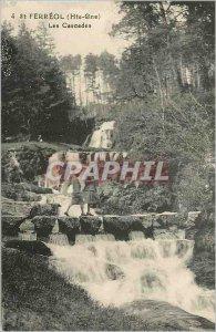 Postcard Old St Ferreol (Haute Gne) Cascades