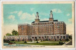 New Chamberlain Vanderbilt Hotel, Old Point Comfort