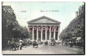 Old Postcard Paris Church of the Madeleine
