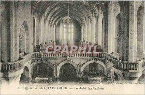 Postcard Ancient Church of La Chaise Dieu The Jube