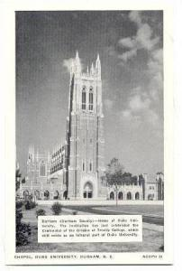 Chapel, Duke University, Durham, North Carolina, 00-10