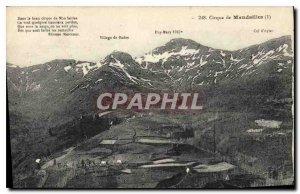 Postcard Old Circus of Mandailles in the beautiful circus of Mandailles
