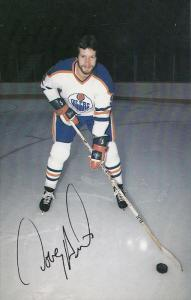 Edmonton Oilers Ice Hockey Player , EDMONTON , Alberta , Canada , 70-80s ; Do...
