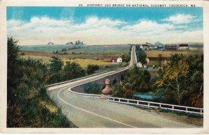 P1738 old historic jug bridge on national highway frederick maryland
