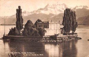 Lac Leman Switzerland 1930