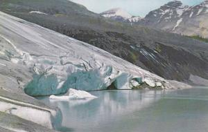 Ice Front,  Athabasca Glacier,  Banff Highway,  Canada,  40-60s