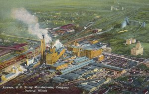 DECATUR , Illinois , 1950-60s ; Staley Plant