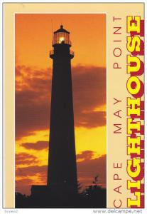 Cape May Point Lighthouse, CAPE MAY POINT, New Jersey, 50-70´s