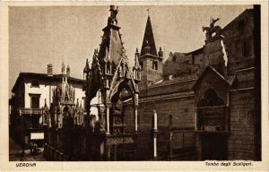 CPA VERONA Tomba degli Scaligeri . ITALY (493434)