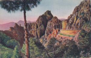 Calanches de PIANA , Corse-du-Sud department ,France , island of Corsica, 20-...