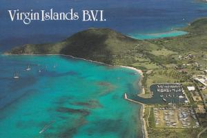British Virgin Islands , Virgin Gorda Yacht Harbor , St Thomas Bay & the Ferr...