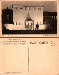 The Swedish Pavilion - At Night (10423)