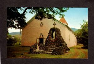 HI Hawaii  St Saint Michael Michaels Church Kailua Kona Postcard PC