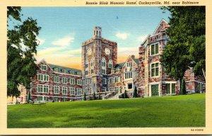 Maryland Cockeysville Bonnie Blink Masonic Home Curteich