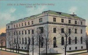 Illinois Danvile U S Federal Court And Post Office Building