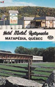 Hotel Motel RESTIGOUCHE , Matapedia , Quebec , Canada , 40-60s