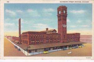 Illinois Chicago Dearborn Station 1942 Curteich