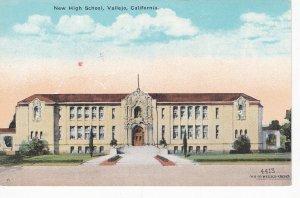 VALLEJO, California, 1900-10s; New High School