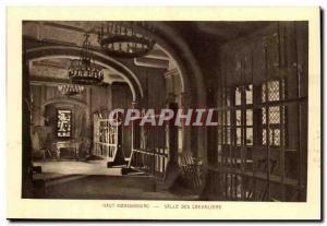 Top Koenigsbourg- Hall Post Card Old Chavaliers