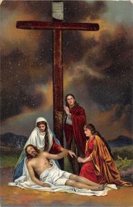BF38895 christus im schlosse maria   painting art postcard