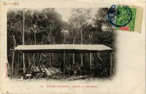 CPA Diego Suarez- Scierie du Sakaramy MADAGASCAR (830023)