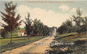 Beautiful Road near The Mongaup House - Ferndale, New York