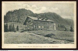 dc1419 - GERMANY Oberstdorf 1917 Hotel Schoenblick auf Schrattenwang