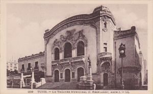 Tunisia Tunis Le Theatre Municipal