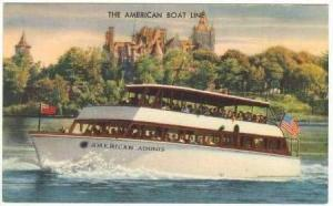 American Adonis, The American Boat Line, Clayton, New York, 1900-1910s