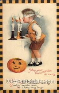 Artist Ellen Clapsaddle Halloween Postcard Postcards