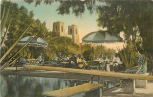 Albertype Arizona Jokake Inn roadside hand colored 1920s Postcard 7853