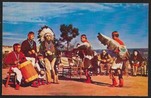 Hopi Indian Dancers Arizona Unused c1950s