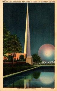 New York World's Fair 1939 The Trylon and Perisphere 1941