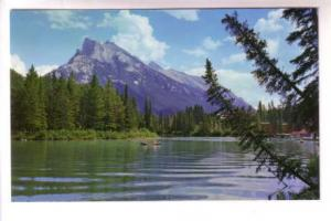 Mount Rundle, Bow River, Alberta