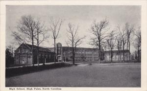 HIGH POINT, North Caroilina; High School, PU-1942